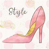Fashion Blooms I Pink