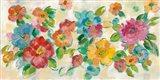 Playful Floral Trio I