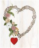 Rustic Valentine Heart Wreath I