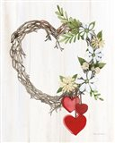 Rustic Valentine Heart Wreath II