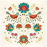 Folk Floral II