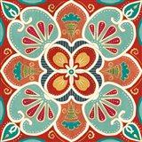 Folk Floral VII