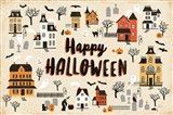 Spooky Village I Cream