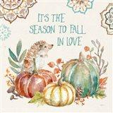 Autumn Friends III