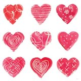 Hearts and More Hearts I