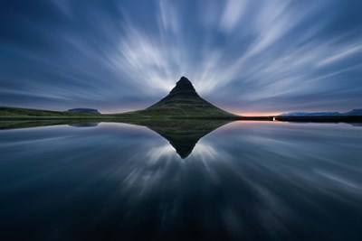 A Night At Kirkjufell Poster by Simon Roppel for $62.50 CAD
