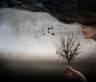Autumn Mood Poster by Elisaveta Jordanova for $37.50 CAD