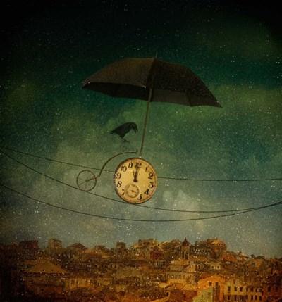 Timekeeper Poster by Svetlana Melik-Nubarova for $36.25 CAD
