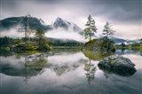 Rainy Morning At Hintersee (Bavaria)
