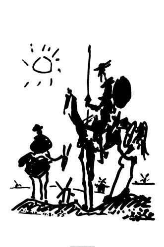 Don Quixote Poster by Pablo Picasso for $22.50 CAD
