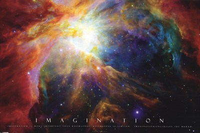 Imagination - Nebula Poster by Unknown for $13.75 CAD