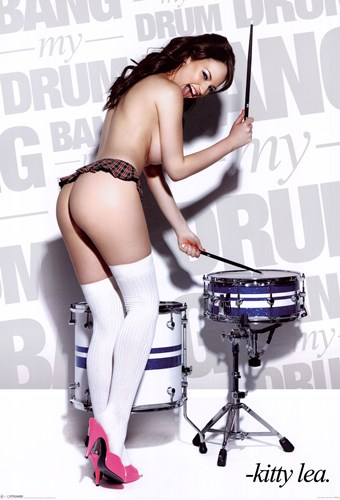 Bang My Drum - Kitty Lea Poster by Unknown for $12.50 CAD