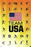 London 2012 Olympics - Team US yellow