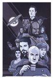 Star Trek - TNG - Black/White