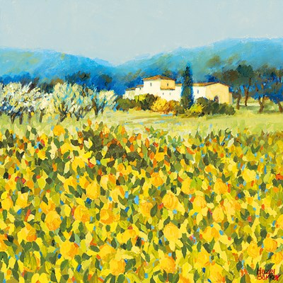 Lemon Grove, Tuscany Poster by Hazel Barker for $16.25 CAD