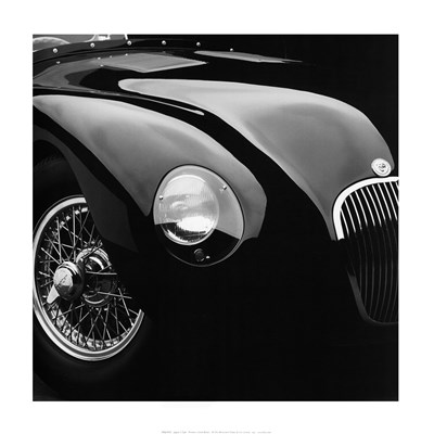 Jaguar C-Type Poster by Retro classics for $53.75 CAD