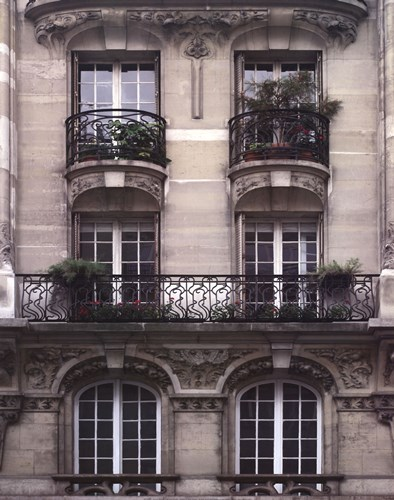 Balcon Parisien II Poster by Tony Koukos for $60.00 CAD
