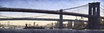 New York Crossing Poster by Pete Kelly for $60.00 CAD