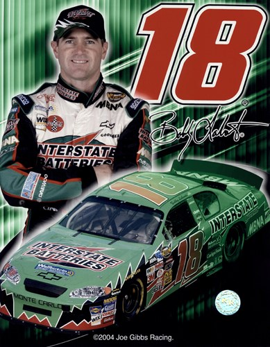 2005 Bobby Labonte collage- car, number, driver and signature Poster by Unknown for $21.25 CAD
