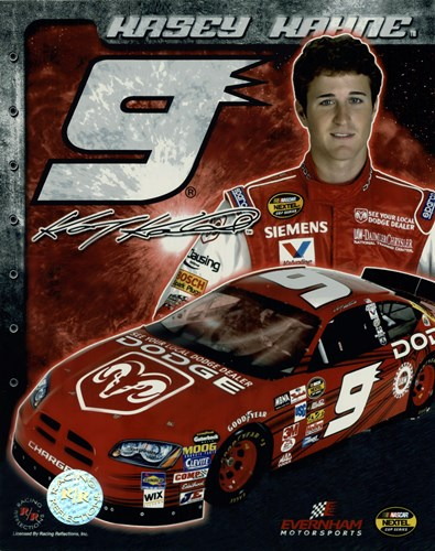 2006 Kasey Kahne collage- car, number, driver and signature Poster by Unknown for $10.00 CAD
