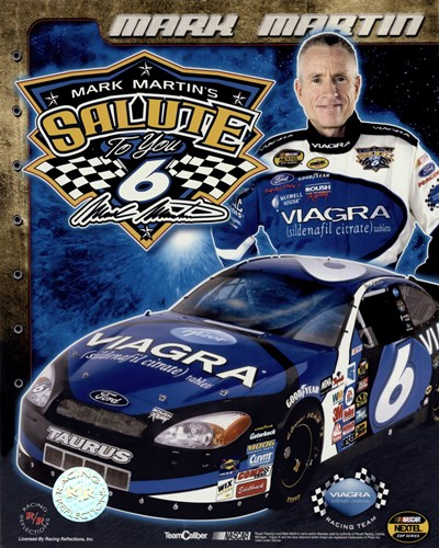 2006 Mark Martin collage- car, number, driver and signature Poster by Unknown for $11.25 CAD