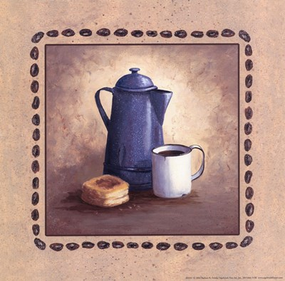 American Coffee Poster by Barbara Felisky for $10.00 CAD