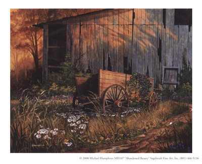 Abandoned Beauty Poster by Michael Humphries for $10.00 CAD