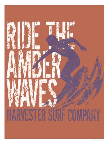 Amber Waves Poster by Sam Maxwell for $18.75 CAD