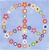 Peace Flowers I