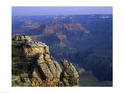 High angle view of rock formation, Grand Canyon National Park, Arizona, USA Poster by Unknown for $31.25 CAD