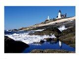 Pemaquid Point Lighthouse Pemaquid Point Maine USA