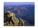 High angle view of rock formation, Grand Canyon National Park, Arizona, USA