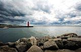 Muskegon South Breakwater lighthouse, Lake Michigan, Muskegon, Michigan, USA