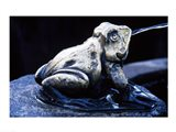 Canada, British Columbia,  Butchart Gardens, sculpture frog, fountain - your walls, your style!