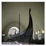 9th Century Viking Ships Oslo, Norway