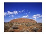 Rock formation, Ayers Rock, Uluru-Kata Tjuta National Park, Australia