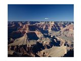 High angle view of a canyon, South Rim, Grand Canyon, Grand Canyon National Park, Arizona, USA