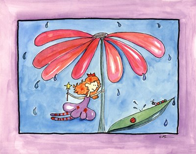 April Showers Poster by Serena Bowman for $25.00 CAD