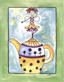 Purple Flower Teapot Fairy