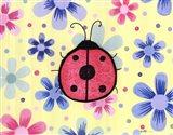 The Funky Flower Ladybug