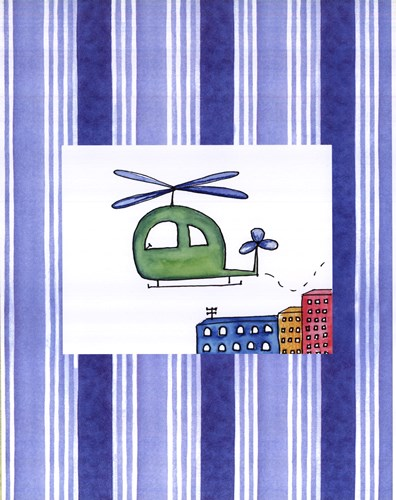 Helicopter Poster by Serena Bowman for $25.00 CAD