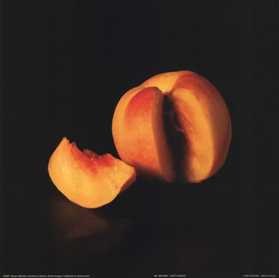 Just Peachy Poster by Steven Mitchell for $8.75 CAD