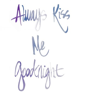 Always Kiss Me Goodnight Poster by Nola James for $12.50 CAD