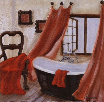Antique Bath II Poster by Hakimipour - Ritter for $12.50 CAD