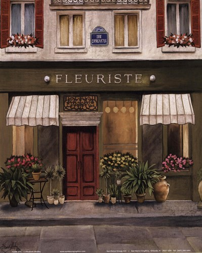 French Store II Poster by Elizabeth Medley for $10.00 CAD