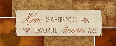 Favorite Memories Poster by Elizabeth Medley for $10.00 CAD
