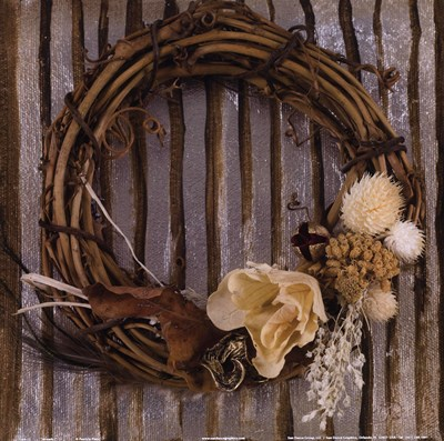 Wreath I Poster by Patricia Pinto for $12.50 CAD