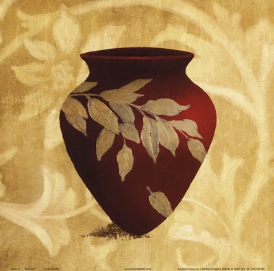 Red Vase I Poster by Lanie Loreth for $12.50 CAD
