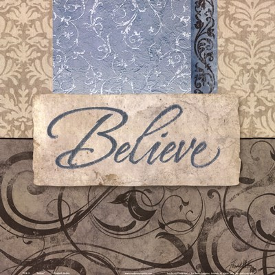 Believe Poster by Elizabeth Medley for $12.50 CAD