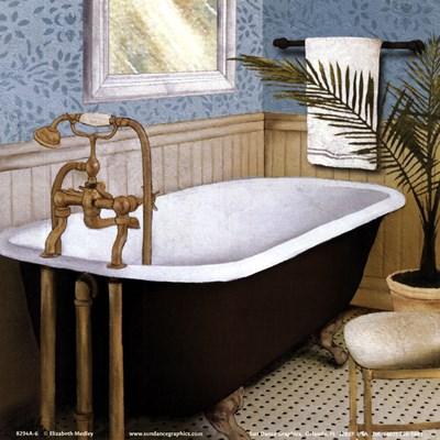 Afternoon Bath I Poster by Elizabeth Medley for $10.00 CAD